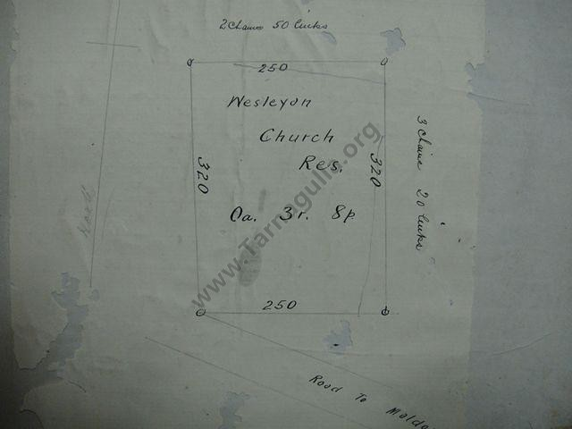 Tarnagulla Wesleyan Methodist Church Record from the Uniting Church Archives