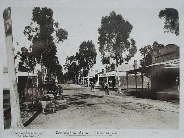 Commercial Road, Looking South, 1909.