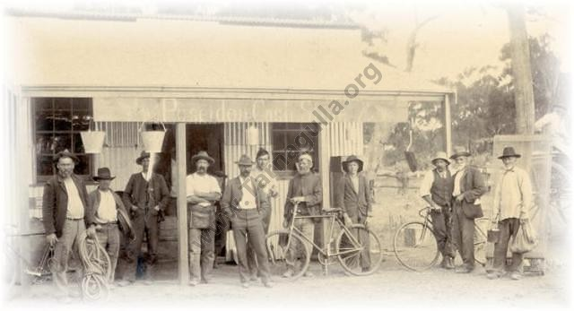 Poseidon Cash Store C 1906. Kindly provided by George Swinburne.