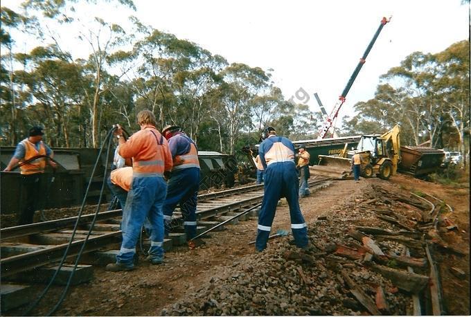 Train Derailment, 2004
