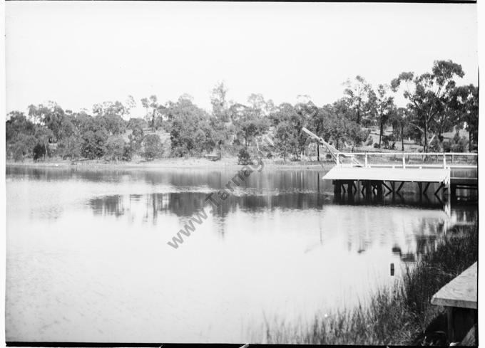 Tarnagulla Reservoir, c1910