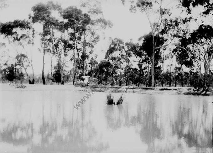 Bathing Dam at the Recreation Reserve, c1912