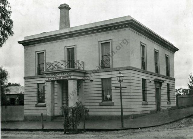 Union Bank, Tarnagulla, 1928 David Gordon Collection