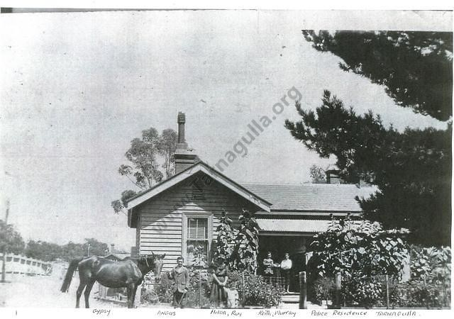 Police Residence, Tarnagulla, 1925. From the Mary Dridan Collection