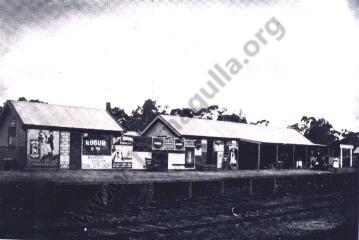 Tarnagulla Railway Station, ~ 1930.