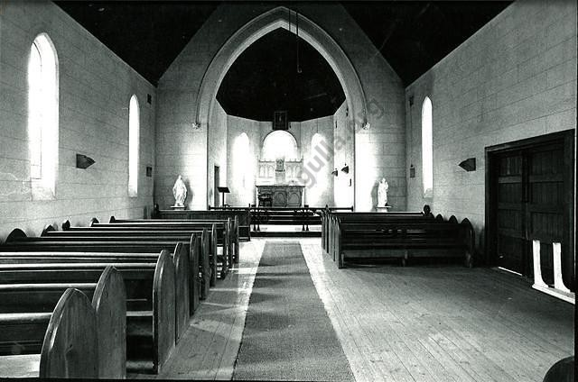 Interior of Roman Catholic Church, Tarnagulla.