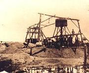 "Mining at Poseidon ""Whim"" 1906."